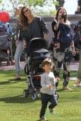 Gisele Bundchen Has Her Hands Full With Her Kids, Benjamin Brady & Vivian Brady