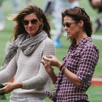 Gisele Bundchen and Bridget Moynahan Hang Out At John's Soccer Game Together!