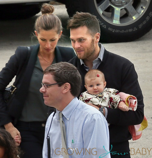 Tom Brady and Gisele Bündchen Step Out With Their Family