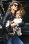 Gisele Bundchen and daughter Vivian Brady at Chanel photoshoot