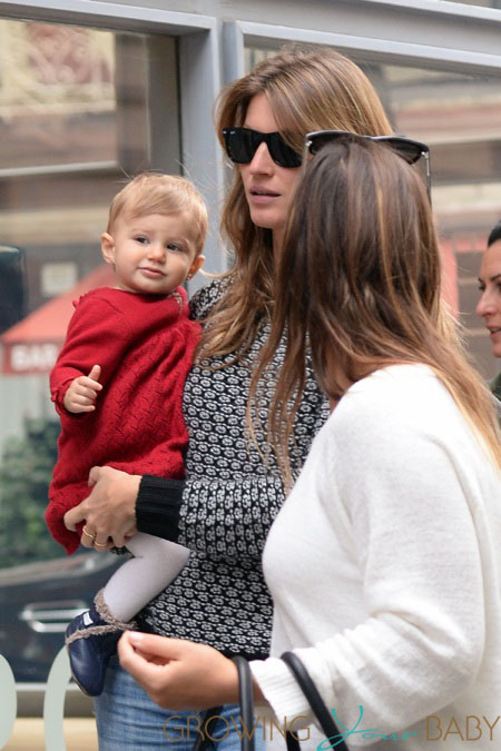 Gisele Bundchen out in NYC with daughter Vivian