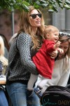 Gisele Bundchen out in New York City with daughter Vivian
