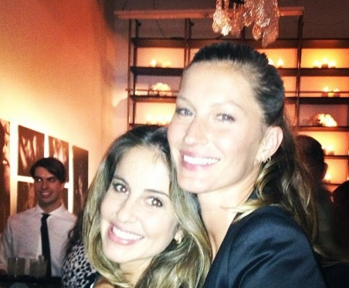 Gisele and Gabrielle Bundchen in NYC