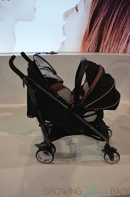 Graco Breaze Stroller with Snugride Click Connect infant seat