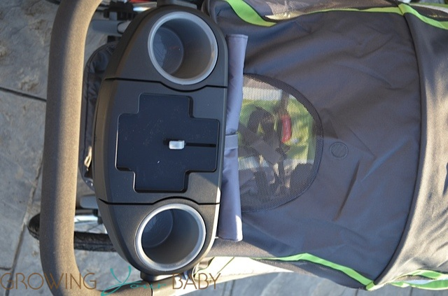 Graco FastAction Fold Jogger Click Connect Stroller - view from above