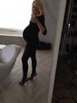 Gwen Stefani 7 Months Pregnant 2014