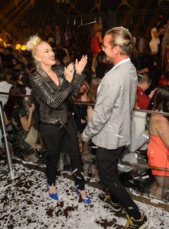 Gwen Stefani and Gavin Rossdale celebrate Hakkasan Las Vegas' one year anniversary
