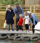 Gwen Stefani & Gavin Take Their Boys To Woburn Safari Park