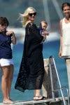 Gwen Stefani with her son Apollo @ club 55 St. Tropez