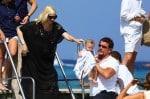 Gwen Stefani with her son Apollo at club 55 St. Tropez