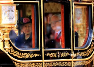 HRH Queen Elizabeth II at Singapore State Visit to Britain of President Tony Tan Keng Yam