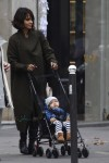 Halle Berry steps out with son Maceo in Paris