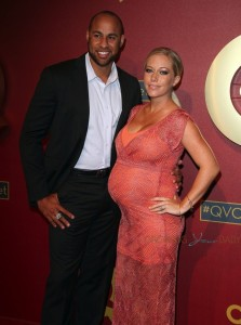 Hank Baskett and Kendra Wilkinson attend 5th Annual QVC Red Carpet Style
