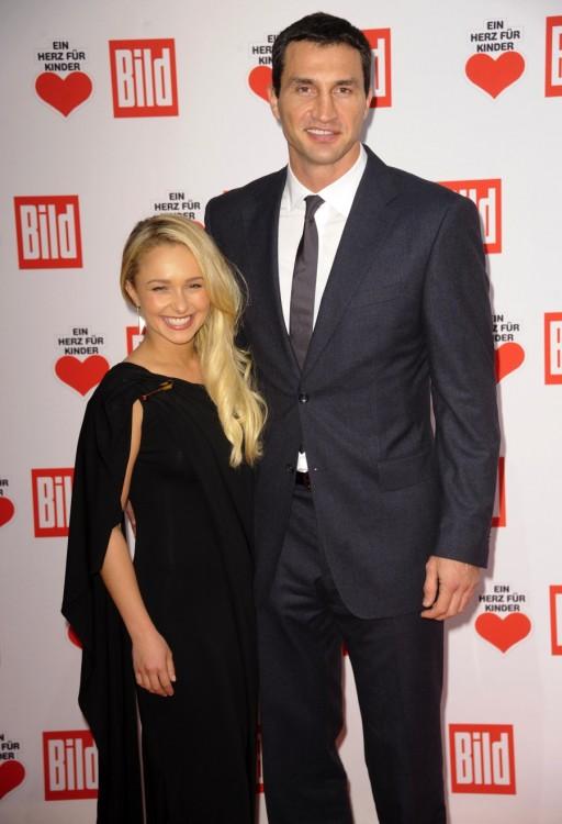 Hayden Panettiere, Wladimir Klitschko at children's charity event