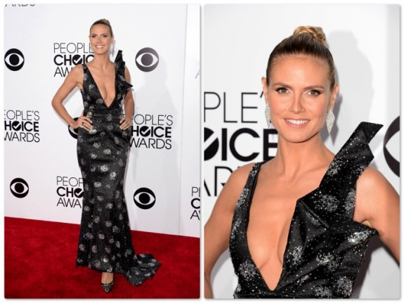 Heidi Klum - 40th annual People's Choice Awards, Los Angeles