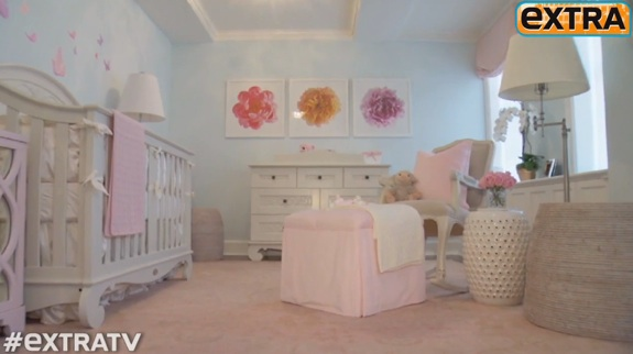 Hilaria Baldwin shows off her baby's nursery