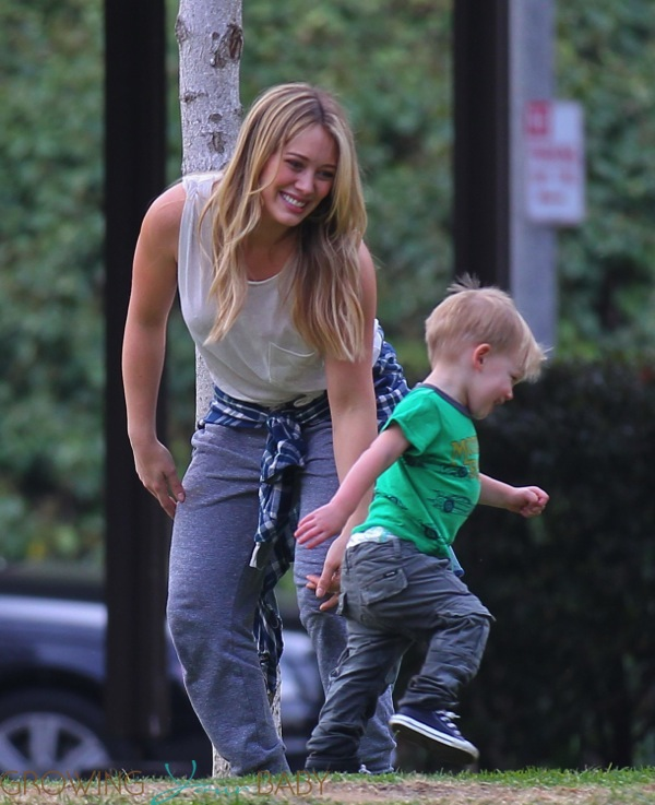 Hilary Duff wit... Mom's Best