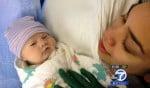 Hope Juarez at birth
