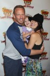 Ian Erin Ziering with daughter Mia at Disney Junior Live On Tour!