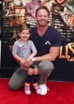 Ian Ziering with daughter Mia at At Boxtrolls Premiere