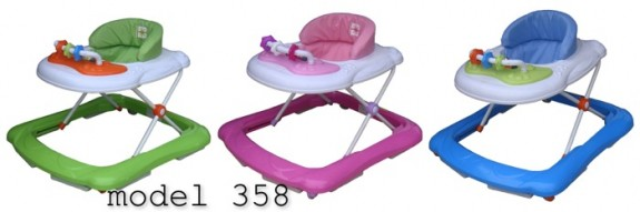 Image of recalled BebeLove walkers model 358