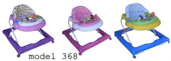 Image of recalled BebeLove walkers model 368