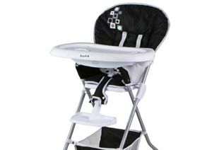 RECALL:  Dream On Me High Chairs Due to Strangulation and Fall Hazards