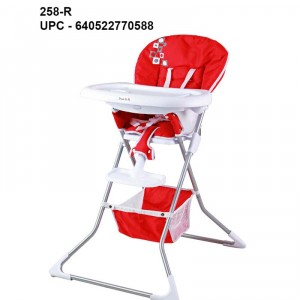Image of recalled Dream On Me Dinah High Chairs - red