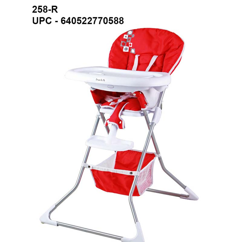 Image of recalled Dream On Me Dinah High Chairs - red ...