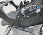 Image of recalled graco Stroller fold lock (side view)