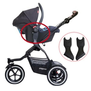 RECALL: phil&teds Infant Car Seat Adaptors for Strollers Due to Fall Hazard