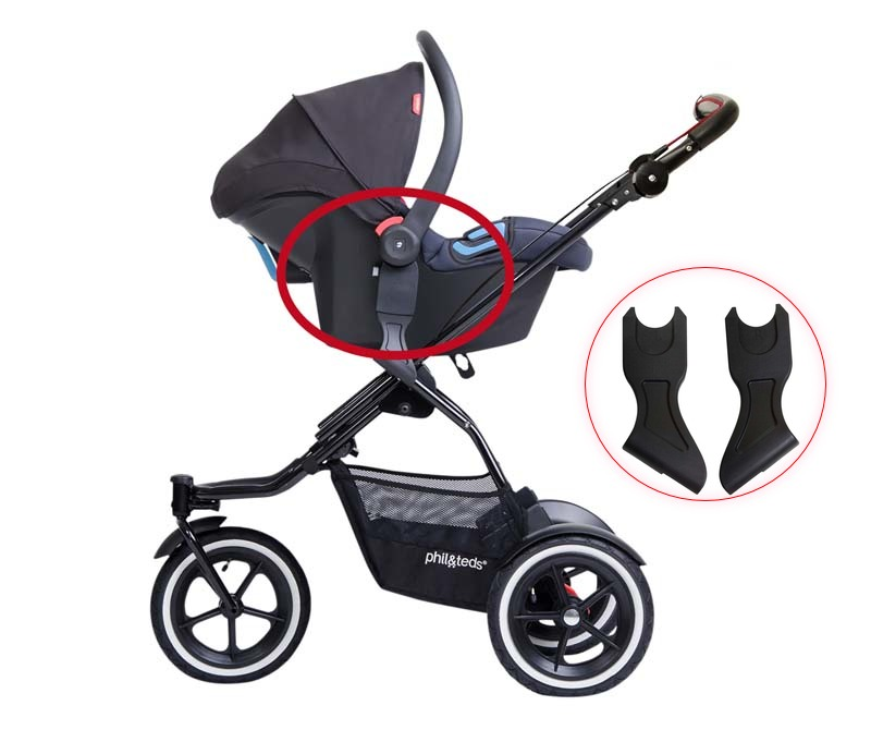 RECALL: phil&teds Infant Car Seat Adaptors for Strollers Due to Fall