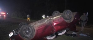 Infant Abandoned In Middle of Road After Horrific Rollover Accident