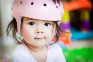 Infant orthotic helmet