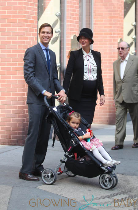 Ivanka Tump & Jared Kushner Take Daughter Arabella To Synagogue
