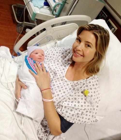 Ivanka Trump with baby Joseph Kushner