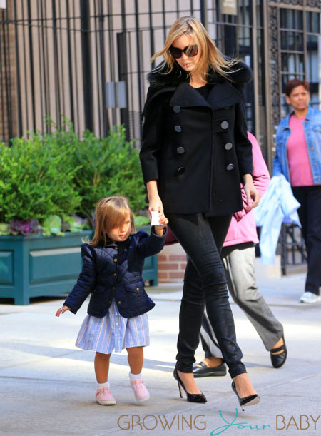Ivanka Trump out and about with daughter Arabella Rose in NYC