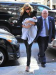 Ivanka Trump out for the first time with her newborn son in NYC