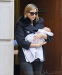 Ivanka Trump out for the first time with her newborn son Joseph in NYC