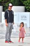 Jason Bateman out in LA with his daughter Maple