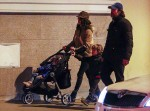 Javier Bardem and Penelope Cruz out in Spain with kids Leo & Luna