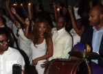 Jay Z and Beyonce party after sister Solange's wedding