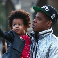 Jay Z & Beyonce Step Out With Blue Ivy in Paris!