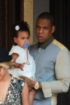Beyonce, Jay Z and baby Blue Ivy spotted in Toronto