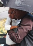 JayZ and daughter Blue Ivy lunch in Paris
