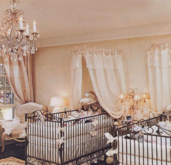 Jenifer Lopez's twin nursery