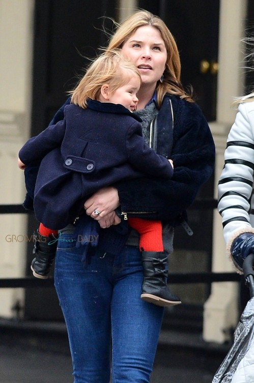 Jenna Bush Hager seen out and about in West Village with her daughter Mila