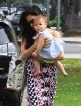 Jenna Dewan Steps Out in LA w: daughter Everly Tatum