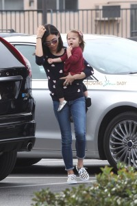Jenna Dewan Tatum seen out shopping with daughter Everly in LA