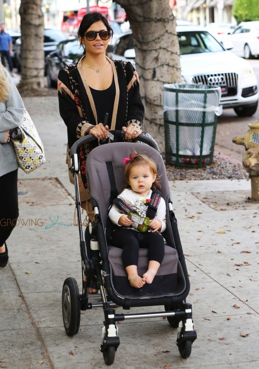 Jenna Dewan Tatum out in LA with her daughter Everly Tatum